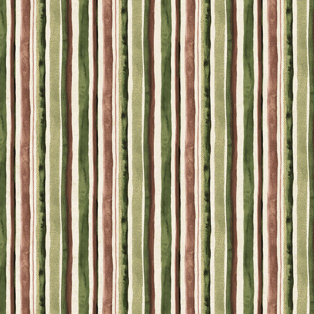Wildflower Linen Stripes Brown