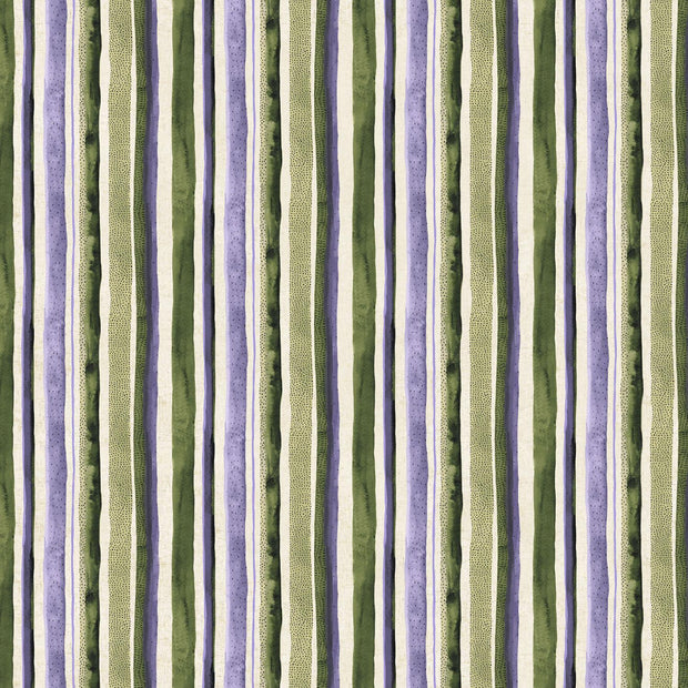Wildflower Linen Stripes Purple