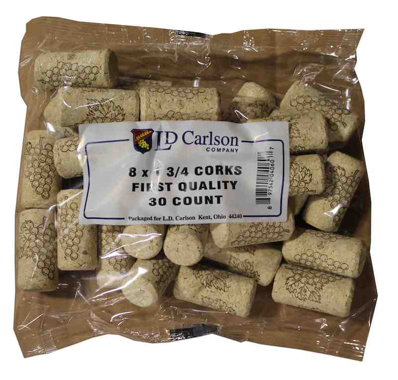 Corks - 8X1 3/4 First Quality