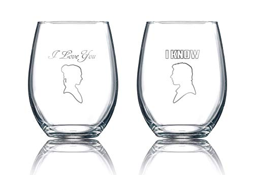 Star Wars Stemless Wine Glasses -