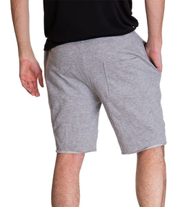 Anaheim Ducks French Terry Jogger Shorts, Back View.