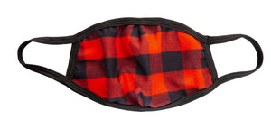 Buffalo Plaid 3 Ply Face Mask.