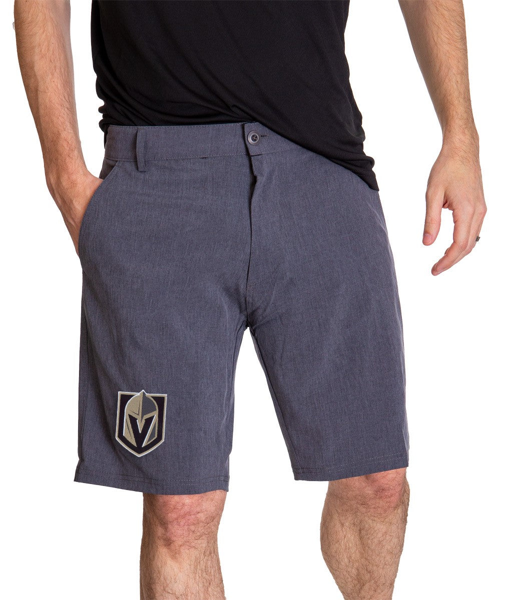 NHL Mens 4 Way Stretch Boardshort-Vegas Golden Knights