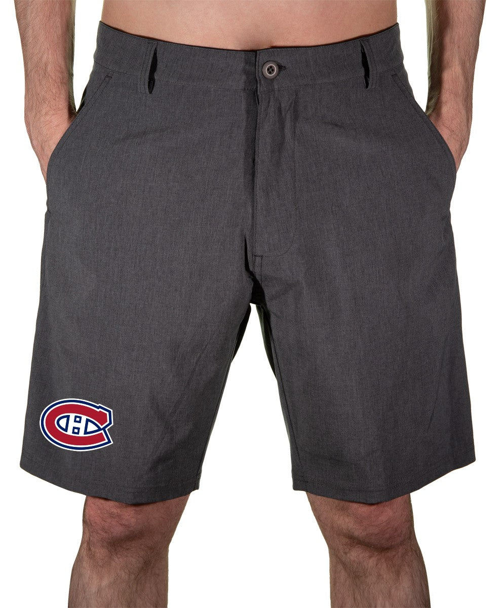 NHL Mens 4 Way Stretch Boardshort- Montreal Canadiens