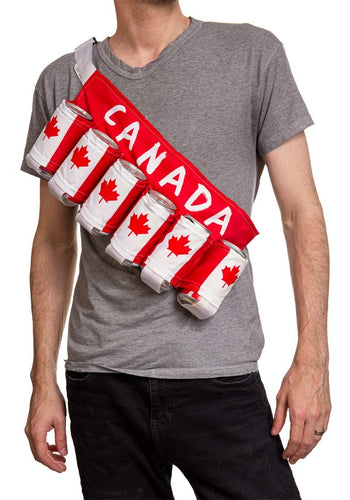 Canada Beer Belt - Novelty Beverage Holder