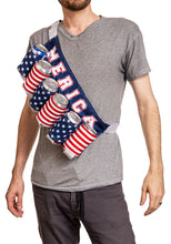 "Load image into Gallery viewer, Novelty Beverage Holder Beer Belt- ""Merica"""