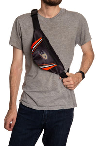NHL Unisex Adjustable Fanny Pack - Anaheim Ducks Crossbody