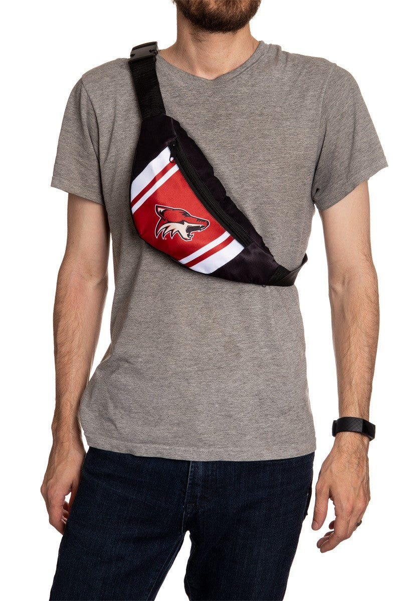 NHL Unisex Adjustable Fanny Pack - Arizona Coyotes Crossbody