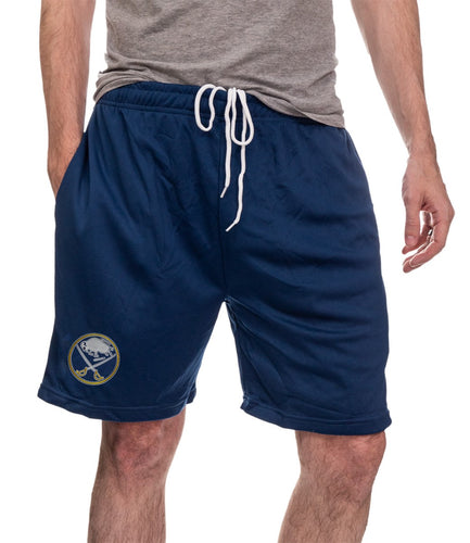 NHL Mens Air Mesh Shorts- Buffalo Sabres