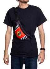 Load image into Gallery viewer, NHL Unisex Adjustable Fanny Pack- Chicago Blackhawks Crossbody
