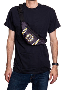 NHL Unisex Adjustable Fanny Pack - Boston Bruins Crossbody