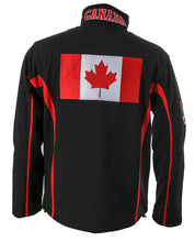 Load image into Gallery viewer, Canada Flag Jacket Back View