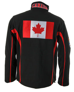 Canada Flag Jacket Back View
