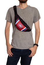 Load image into Gallery viewer, NHL Unisex Adjustable Fanny Pack- Montreal Canadiens Crossbody