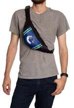 Load image into Gallery viewer, NHL Unisex Adjustable Fanny Pack- Vancouver Canucks Crossbody