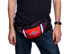 Load image into Gallery viewer, NHL Unisex Adjustable Fanny Pack- Washington Capitals Waist Bag