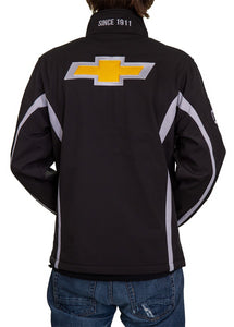 Chevrolet Bowtie Men's Jacket- Black Back Logo