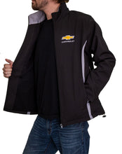 Load image into Gallery viewer, Chevrolet Bowtie Men's Jacket- Black Side