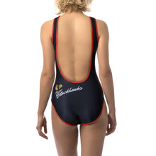 Load image into Gallery viewer, Ladies One-Piece Swimsuit- Chicago Blackhawks