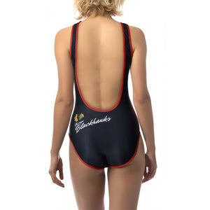 Ladies One-Piece Swimsuit- Chicago Blackhawks