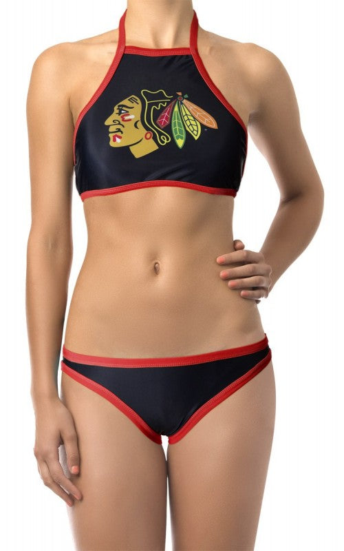 Ladies NHL Sport Bikini- Chicago Blackhawks
