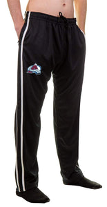 NHL Men's Striped Training Pant- Colorado Avalanche Pocket