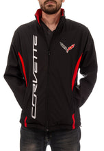 Load image into Gallery viewer, Chevrolet Corvette Men's Jacket- Black Front With Logo