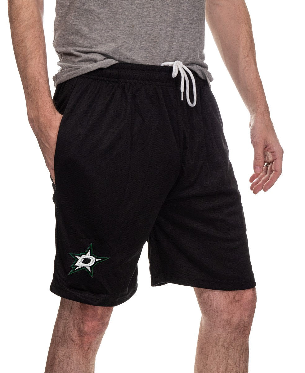 NHL Mens Air Mesh Shorts- Dallas Stars