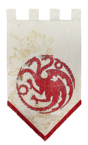 Targaryen Map Banner. Game of Thrones.