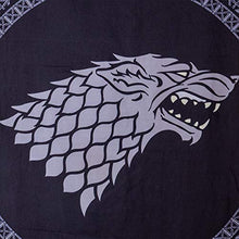 Load image into Gallery viewer, Game of Thrones House Sigil Door Banner - Stark