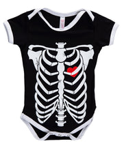 Load image into Gallery viewer, BABY SKELETON ONESIE