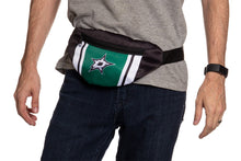 Load image into Gallery viewer, NHL Unisex Adjustable Fanny Pack- Dallas Stars Waist Bag