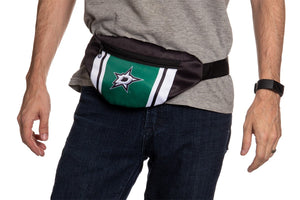 NHL Unisex Adjustable Fanny Pack- Dallas Stars Waist Bag