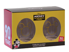 Load image into Gallery viewer, Disney Collectible Wine Glass Set-  90th Anniversary Limited Edition