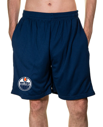 NHL Mens Air Mesh Shorts- Edmonton Oilers
