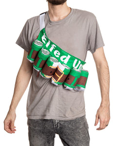Elfed Up Beer Belt - Novelty Beverage Holder