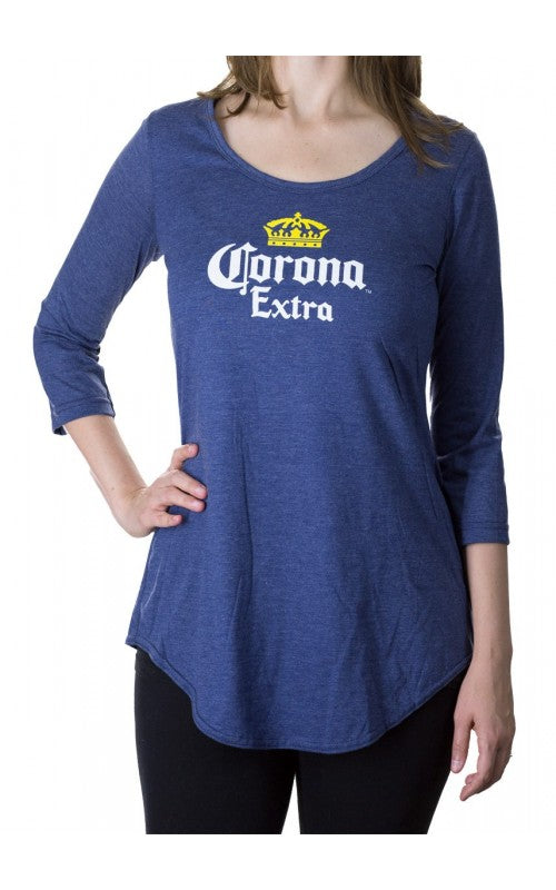 Ladies Corona Three-Quarter Sleeve Flowy Cover-Up