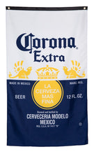 "Load image into Gallery viewer, Corona Indoor Wall Banner- Corona Label (30"" by 50"")"