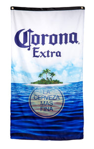 "Corona Indoor Wall Banner- Corona Beach (30"" by 50"")"