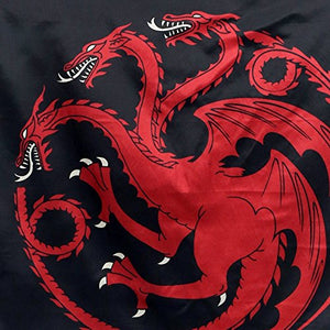 House Targaryen Sigil Wall Banner, Game of Thrones. Dragon Up Close.