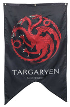 Load image into Gallery viewer, House Targaryen Sigil Wall Banner, Game of Thrones.