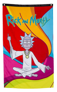 "Rick and Morty Wall Banner - ""Zen Rick"""