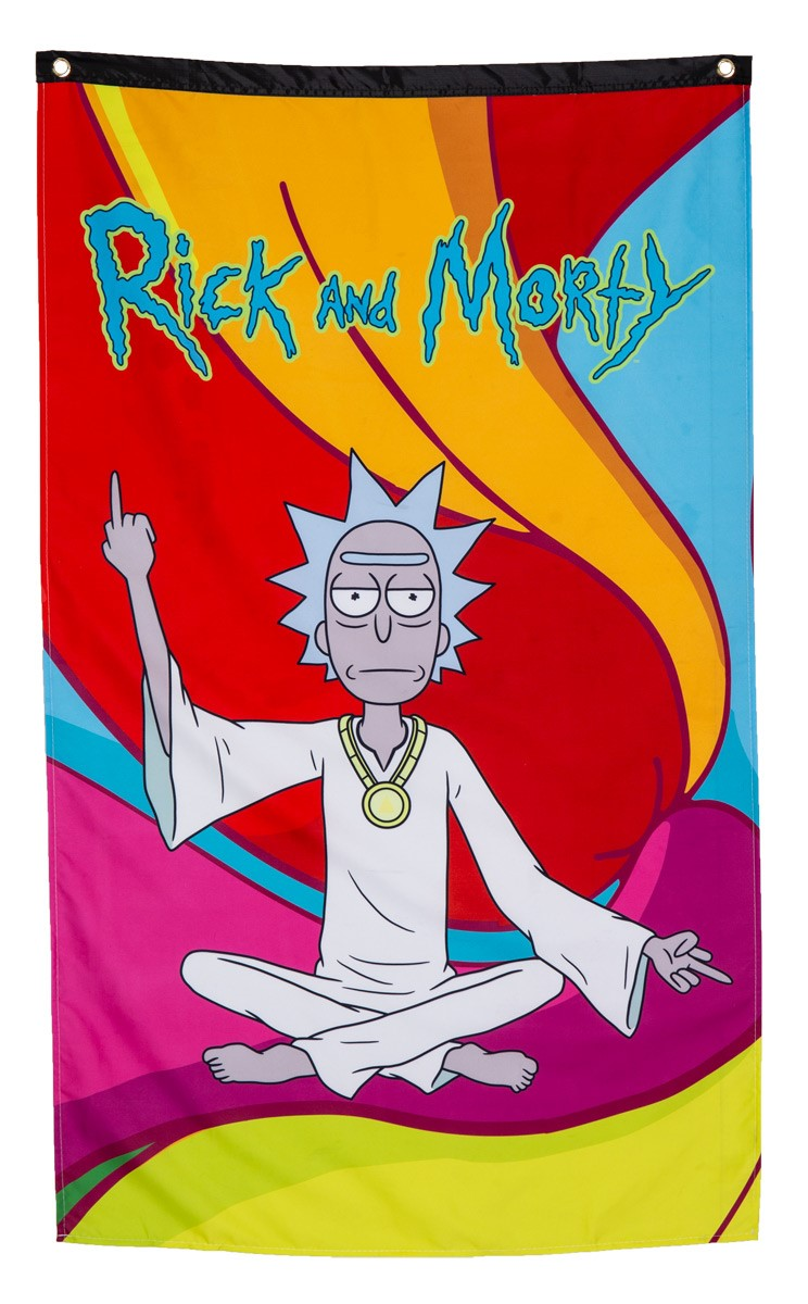 Rick and Morty Wall Banner -