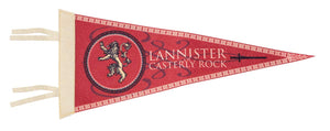 Lannister of Casterly Rock Felt Pennant.