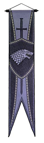 Game of Thrones House Sigil Felt Wall Banner - Stark