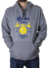 Load image into Gallery viewer, Corona Extra Bottle Hoodie In Oxford Grey