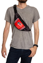 Load image into Gallery viewer, NHL Unisex Adjustable Fanny Pack - Carolina Hurricanes Crossbody