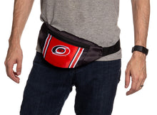 Load image into Gallery viewer, NHL Unisex Adjustable Fanny Pack - Carolina Hurricanes Waistbag