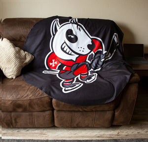 Niagara IceDogs Throw Blanket