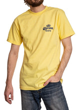 Load image into Gallery viewer, Men's Corona Extra Beachside T-Shirt- Banana Front Top Corner Logo Small
